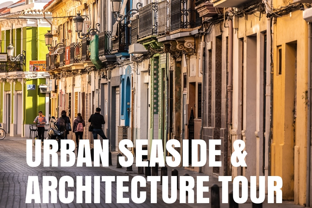 Urban seaside and architectur Fiets tour